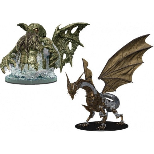 Pathfinder Battles - Deadly Foes Clockwork Dragon vs Star Spawn of Cthulhu - 401 Games