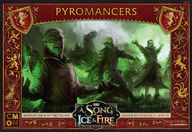 Buy A Song of Ice and Fire - Tabletop Miniatures Game - House Lannister - Pyromancers and more Great Tabletop Wargames Products at 401 Games