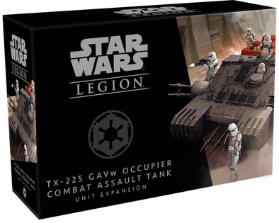 Star Wars: Legion - TX-225 GAVw Occupier Combat Assault Tank Unit Expansion (Pre-Order)