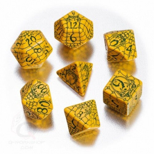 Dice Set - Q-Workshop - 7 Piece Set - Pathfinder - Serpent's Skull - 401 Games