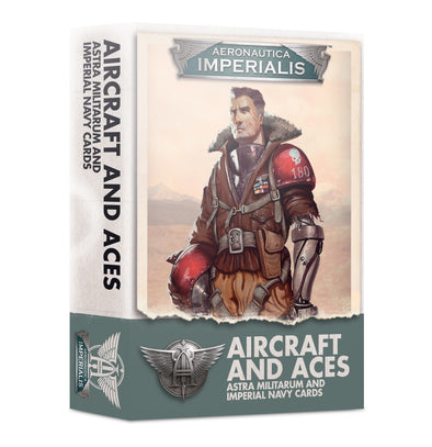 Aeronautica Imperialis - Aircraft and Aces - Astra Militarum and Imperial Navy Cards - 401 Games