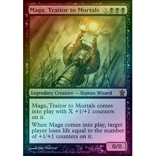 Maga, Traitor to Mortals (Foil) - 401 Games