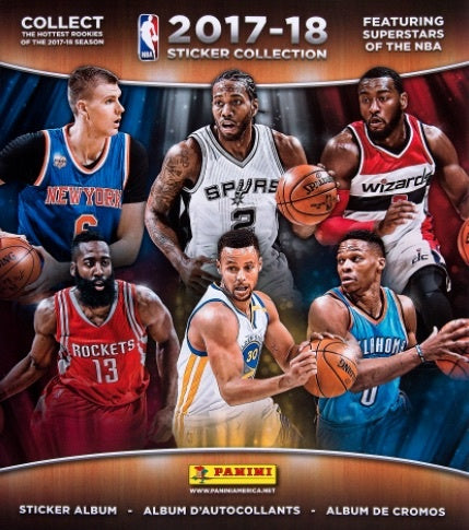 2017-18 Panini Basketball Sticker Collection Album - 401 Games