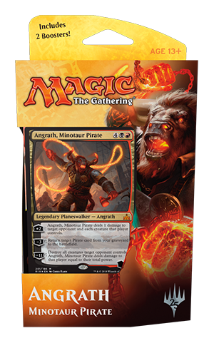 Buy MTG - Rivals of Ixalan -Planeswalker Deck Angrath and more Great Magic: The Gathering Products at 401 Games