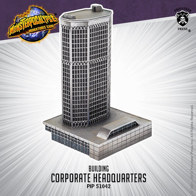 Buy Monsterpocalypse Miniatures Game - Building - Corporate Headquarters and more Great Tabletop Wargames Products at 401 Games