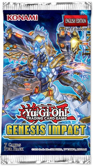 Yugioh - Genesis Impact - Booster Pack 1st Edition available at 401 Games Canada