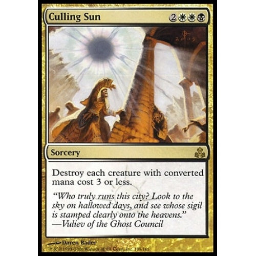 Culling Sun (GPT) available at 401 Games Canada