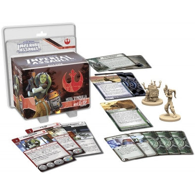 Star Wars Imperial Assault Hera Syndull and C1-10P Ally Pack - 401 Games