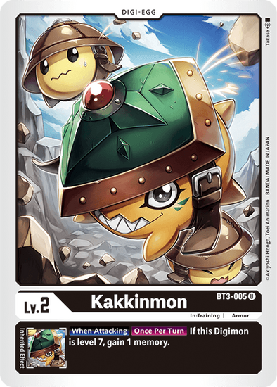 Kakkinmon (BT3-005) available at 401 Games Canada