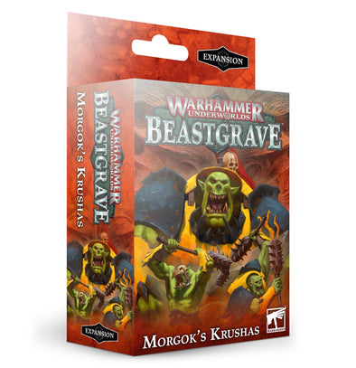 Warhammer Underworlds - Beastgrave - Morgok's Krushas ** available at 401 Games Canada