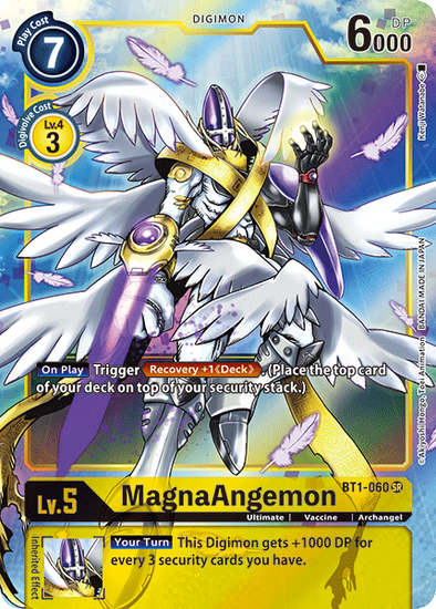 MagnaAngemon - Alternative Art (BT1-060) available at 401 Games Canada
