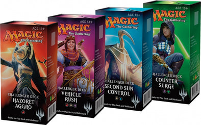 Buy MTG - Challenger Decks 2018 - Set of 4 and more Great Magic: The Gathering Products at 401 Games
