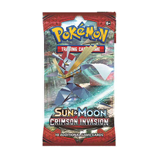 Pokemon - Crimson Invasion Booster Pack - 401 Games