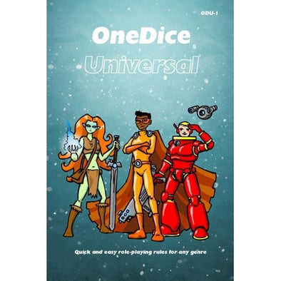 One Dice - Universal - Core Rulebook - 401 Games
