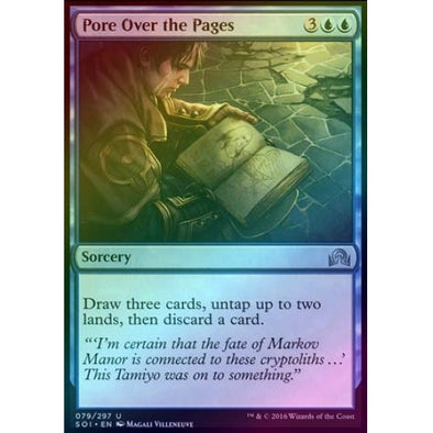 Pore Over the Pages (Foil) - 401 Games