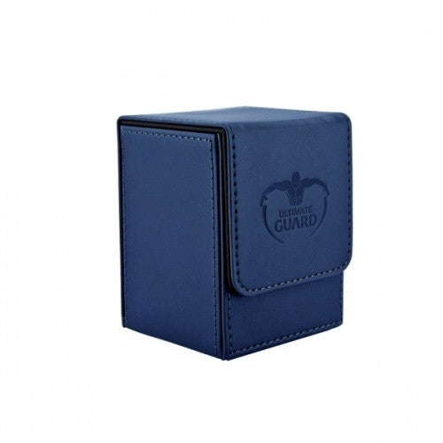Ultimate Guard - Flip Deck Case Leatherette 100+ - Navy - 401 Games
