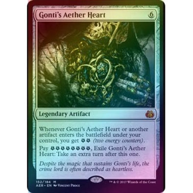 Gonti's Aether Heart (Foil) (AER) available at 401 Games Canada