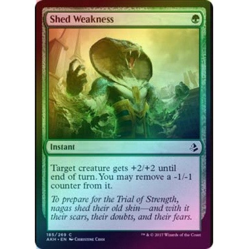 Shed Weakness (Foil) (AKH) available at 401 Games Canada