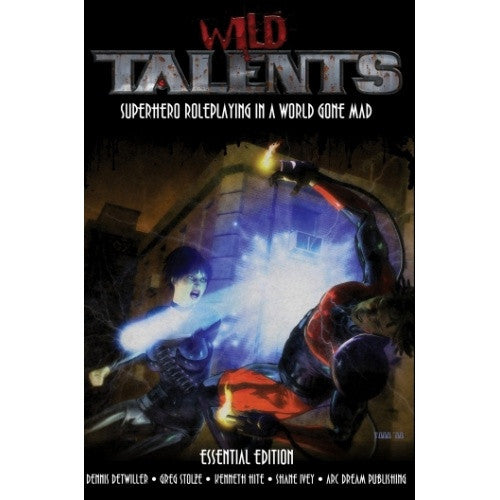 Wild Talents: Essential Edition - Core Rulebook - 401 Games