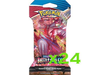 Pokemon - Battle Styles - Sleeved Booster Pack (Bundle of 24) (Pre-Order March 19th, 2021) available at 401 Games Canada