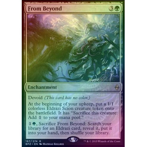 From Beyond (Foil) (BFZ) available at 401 Games Canada