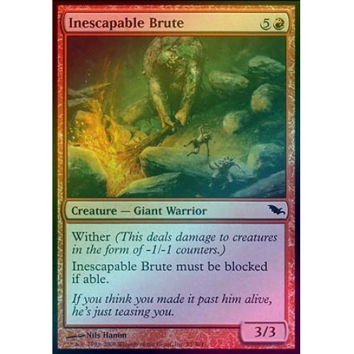 Inescapable Brute (Foil)
