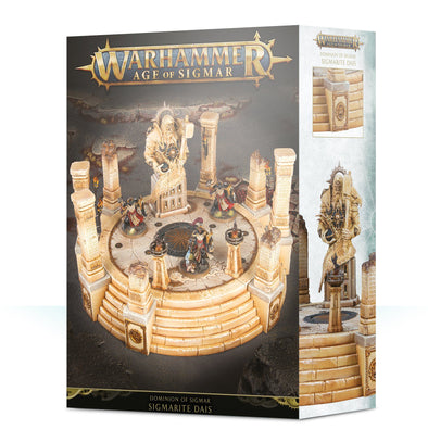 Buy Warhammer - Age of Sigmar - Realm of Sigmar - Sigmarite Dais and more Great Games Workshop Products at 401 Games