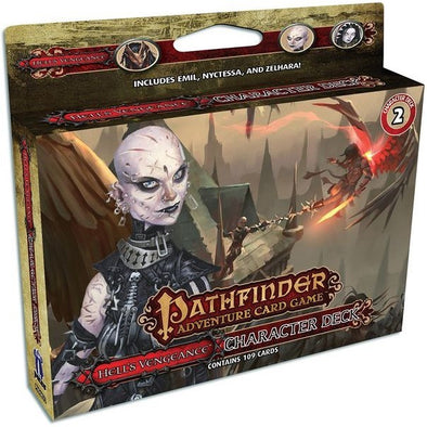 Buy Pathfinder Adventure Card Game - Hell's Vengeance - Character Deck 2 and more Great Board Games Products at 401 Games
