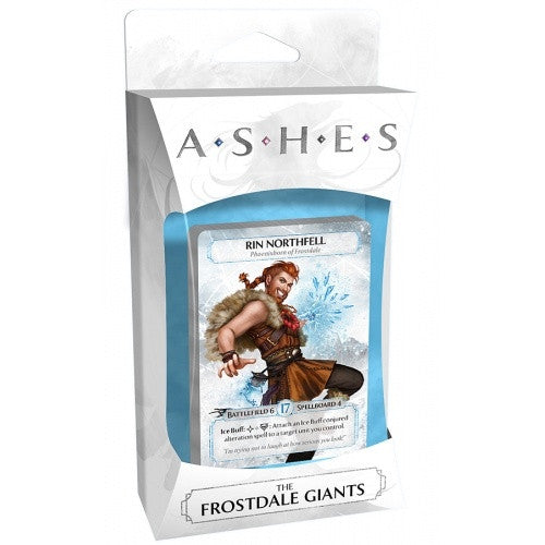Buy Ashes - The Frostdale Giants and more Great Board Games Products at 401 Games