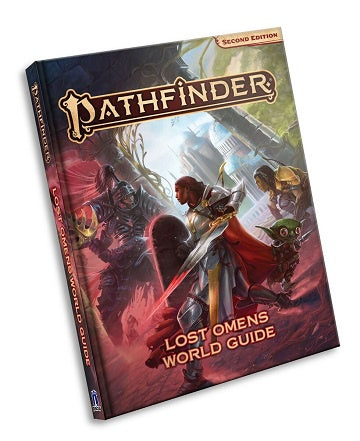 Buy Pathfinder 2nd Edition - Lost Omens World Guide (Pre-Order) and more Great RPG Products at 401 Games