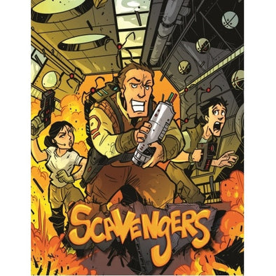 Scavengers - Core Rulebook - 401 Games