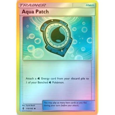 Aqua Patch - 119/145 - Reverse Foil - 401 Games