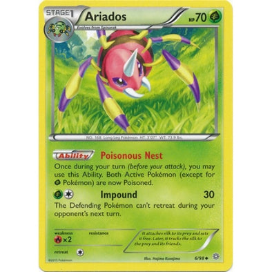 Buy Ariados - 6/98 and more Great Pokemon Products at 401 Games