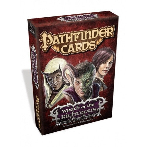 Pathfinder - Cards - Wrath of the Righteous Face Cards
