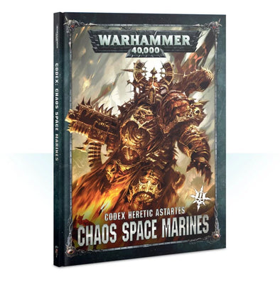 Buy Warhammer 40,000 - Codex: Chaos Space Marines - 8th Edition and more Great Games Workshop Products at 401 Games