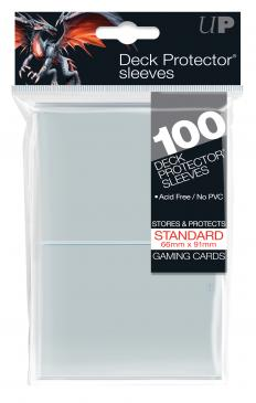 Ultra Pro - Standard Card Sleeves 100ct - Clear available at 401 Games Canada