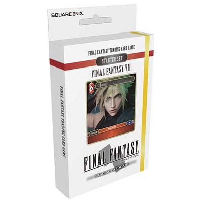 Final Fantasy TCG - Opus I Final Fantasy VII Fire and Earth Starter Deck - 401 Games
