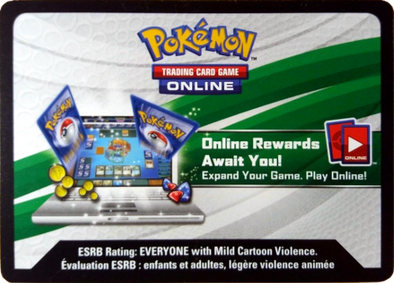 Pokemon - XY Roaring Skies Online Pack (Unused Digital Code)