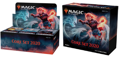 MTG - Core Set 2020 - Combo #1 - Booster Box & Bundle - 401 Games