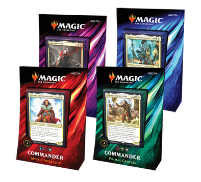 MTG - Commander 2019 - Set of 4 Decks - 401 Games