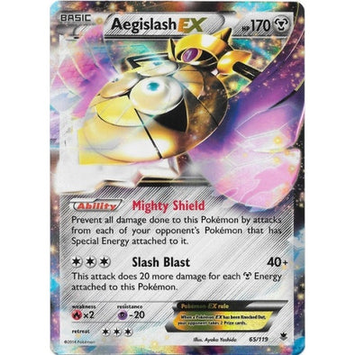 Buy Aegislash-EX - 65/119 and more Great Pokemon Products at 401 Games