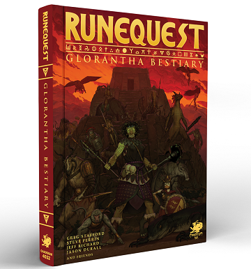 Buy RuneQuest: Glorantha Bestiary and more Great RPG Products at 401 Games