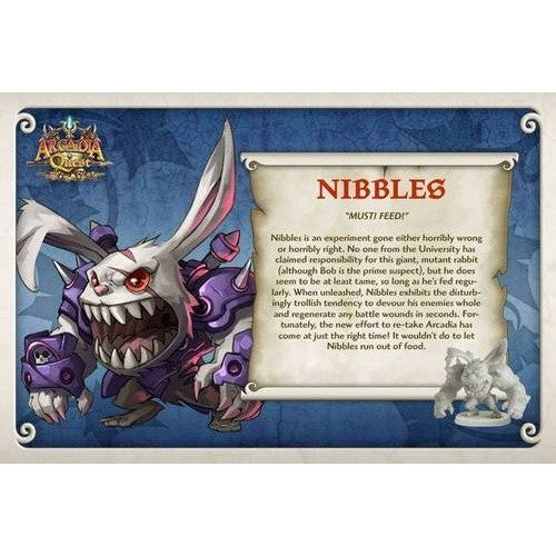 Buy Arcadia Quest - Nibbles and more Great Board Games Products at 401 Games