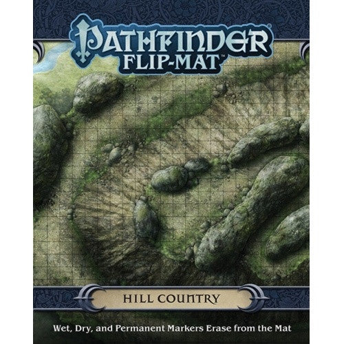 Pathfinder - Flip Mat - Hill Country - 401 Games