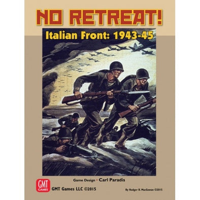 Buy No Retreat - Italian Front 1943-1945 and more Great Board Games Products at 401 Games
