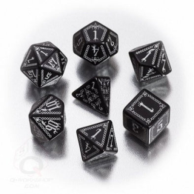 Dice Set - Q-Workshop - 7 Piece Set - Pathfinder - Carrion Crown - 401 Games