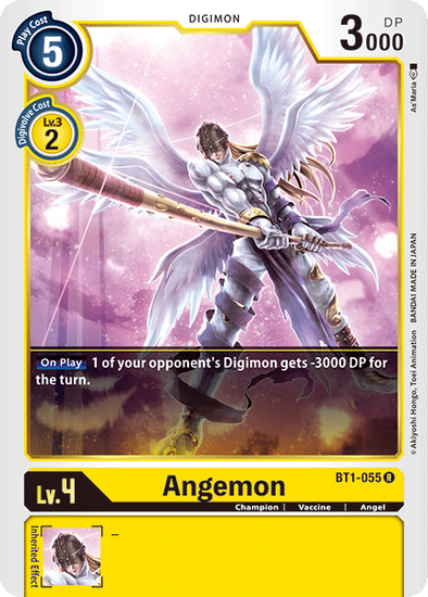 Angemon (BT1-055) available at 401 Games Canada
