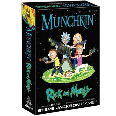 Munchkin - Rick and Morty available at 401 Games Canada