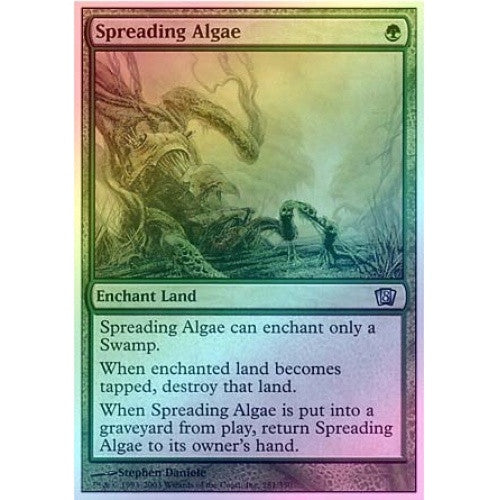 Spreading Algae (Foil) available at 401 Games Canada