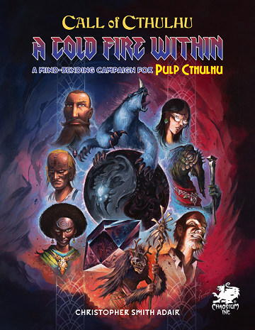 Pulp Cthulhu - A Cold Fire Within (Pre-Order)
